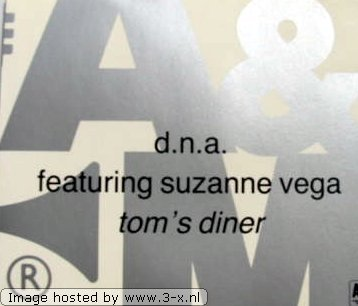 DNA feat. Suzanne Vega - Tom's Diner (12'' Version)